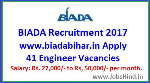 BIADA Recruitment 2017
