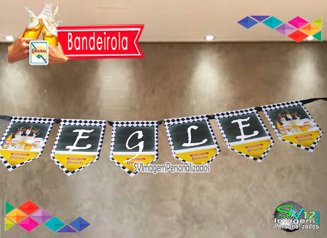 Festa Boteco Cerveja Antarctica Original dica decoração , os preços mais baratos para personalizados bandeirola