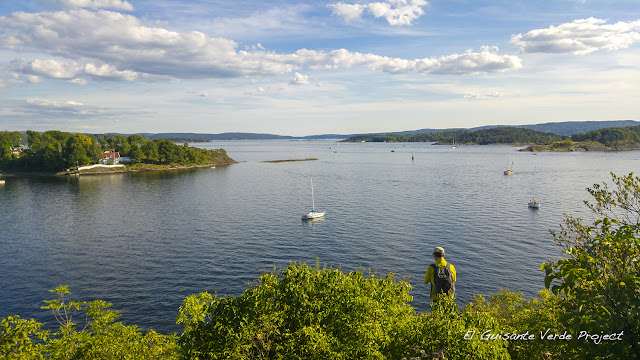 Vista desde Hovedøya - Oslo por El Guisante Verde Project