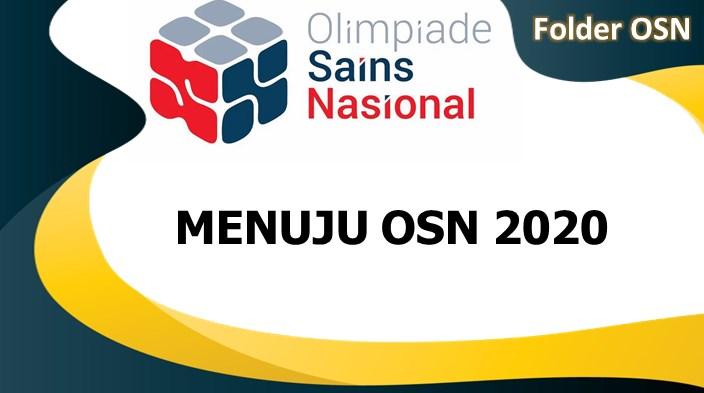 Menuju Olimpiade Sains Nasional (OSN) 2020