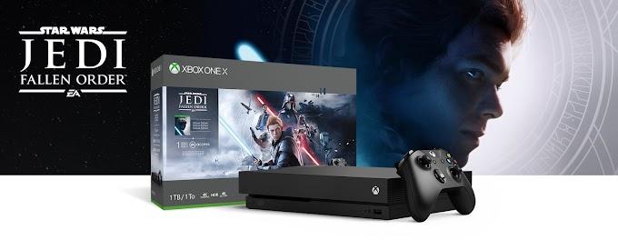 Sorteio do Dia - Concorra a Um: Xbox One X ou o jogo Jedi Fallen order!