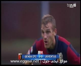 اهداف مباراة جنوى 3-1يوفنتوس  الدورى الايطالى   ثلاثية جنوى  ضد يوفنتوس اليوم 27-11-2016