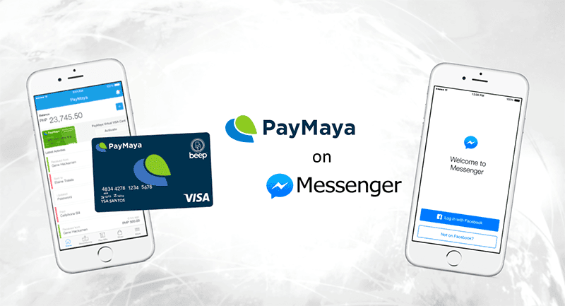 PayMaya in Messenger - RalphPH