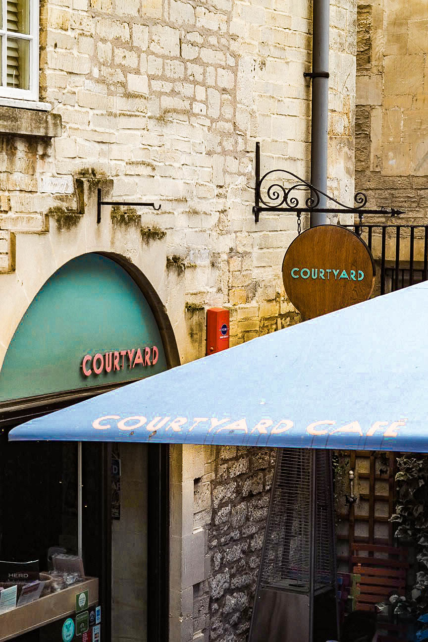 Courtyard Cafe, Bath