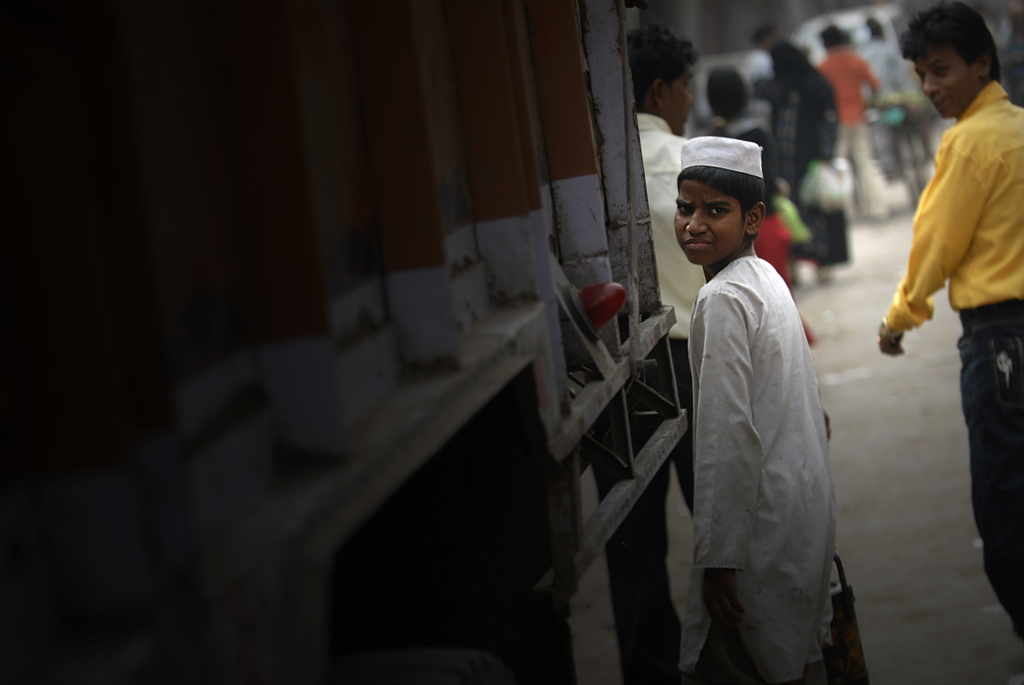Boy in Paharganj submitted to the 'Street Photography Awards 2021' photo competition on LensCulture.