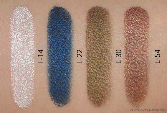 Make Up For Ever Aqua XL Color Paint L-14 L-22 L-30 L-54 Swatches