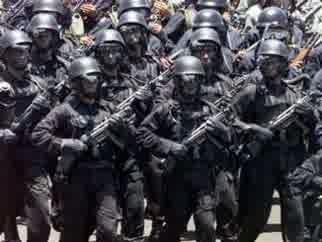 gambar Sat Gultor 81 Kopassus pasukan khusus Indonesia