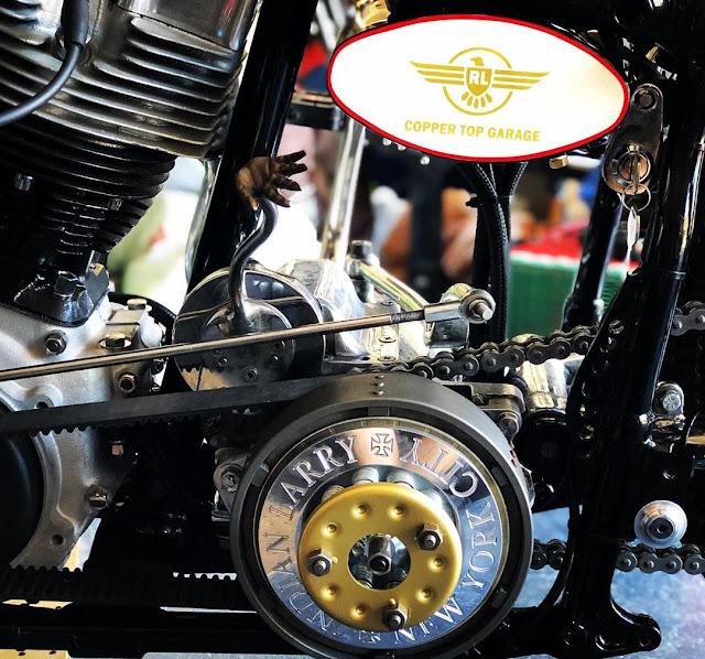 Harley Davidson Shovelhead By Copper Top Garage Hell Kustom