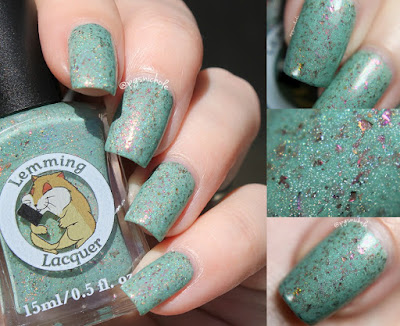 Lemming Lacquer Beware the Jabberwock | A Very Merry Un-Birthday Collection