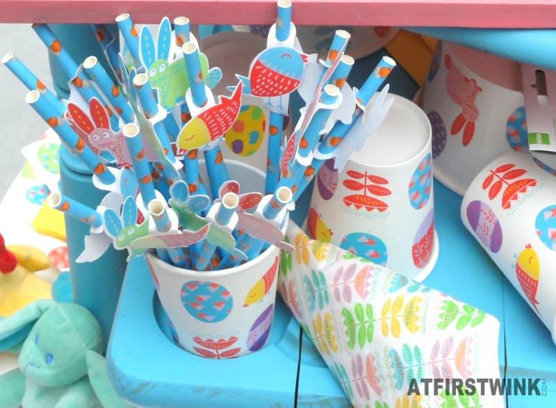 HEMA Easter paper straws bunny bird