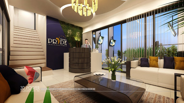 3d-architectural-walkthrough-evening-view-commercial-office