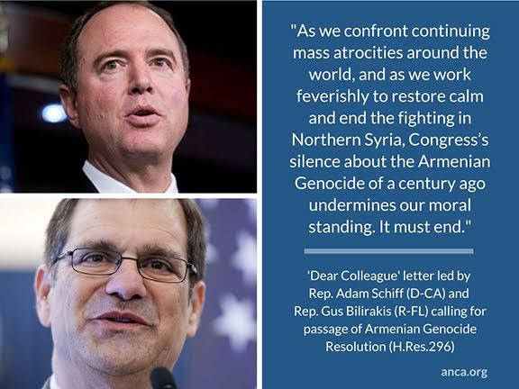 Sherman pide reconocer el genocidio armenio