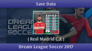 Save Data Real Madrid C.F. Dream League Soccer 2017