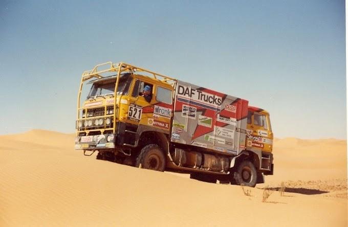 Gerard De Rooy confirma su vuelta al Rally Dakar junto a dos DAF históricos