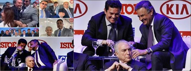 Grampos que Moro fez contra advogados de Lula