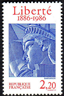 France 1986 Statue Of Liberty