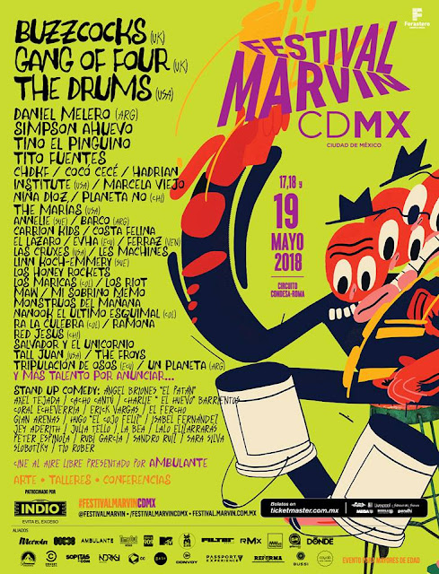 CARTEL FESTIVAL MARVIN 2018
