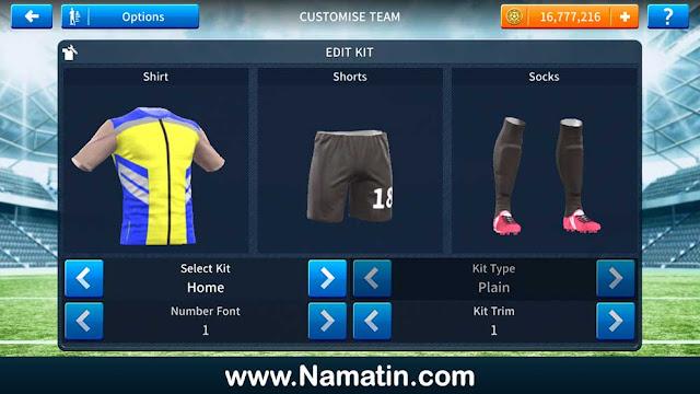 Kaos Dream League Soccer Rompi Provos