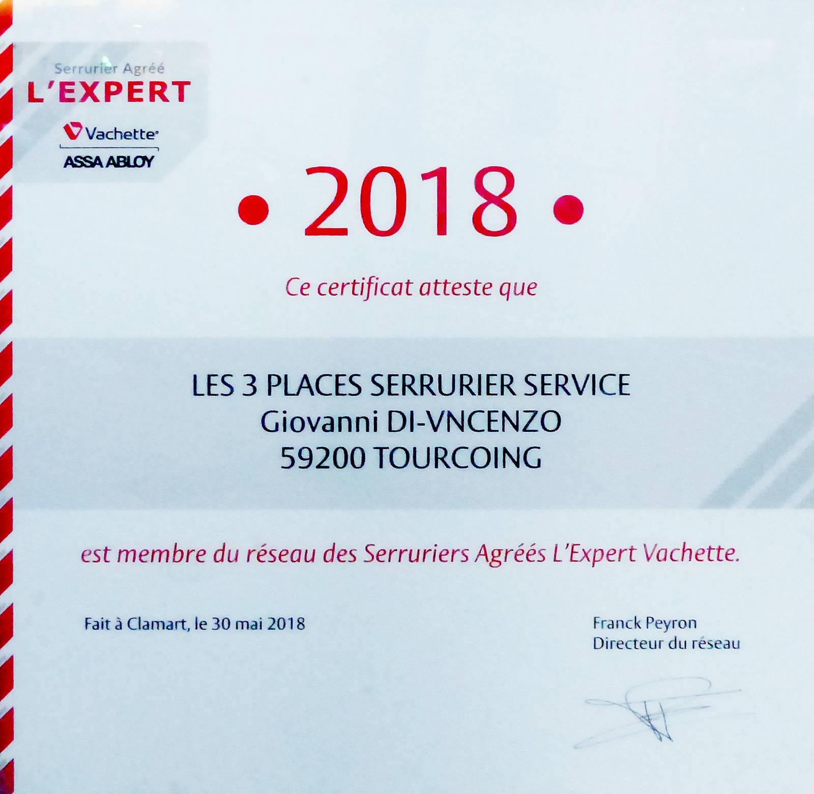 Tourcoing 3 Places Serrurier - Expert Vachette