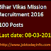 Bihar Vikas Mission Recruitment 2016 Apply for 100 Management Associate, Project Lead, RA & Associate posts
