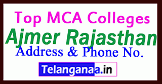Top MCA Colleges in Ajmer Rajasthan