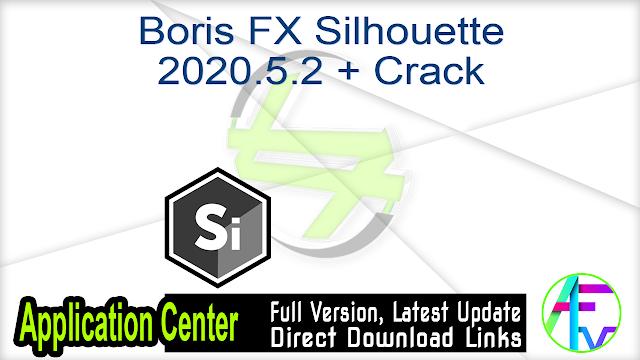 Boris FX Silhouette 2020.5.2 + Crack