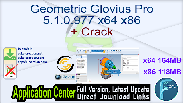 Geometric Glovius Pro 5.1.0.977 x64 x86 + Crack