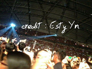 National Stadium. Directioner Indonesia: Pengalaman Di OTRA 2015, LIVE IN SINGAPORE