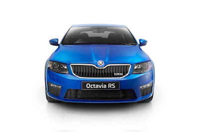 New 2017 Skoda Octavia vRS Blue color Hd Photos