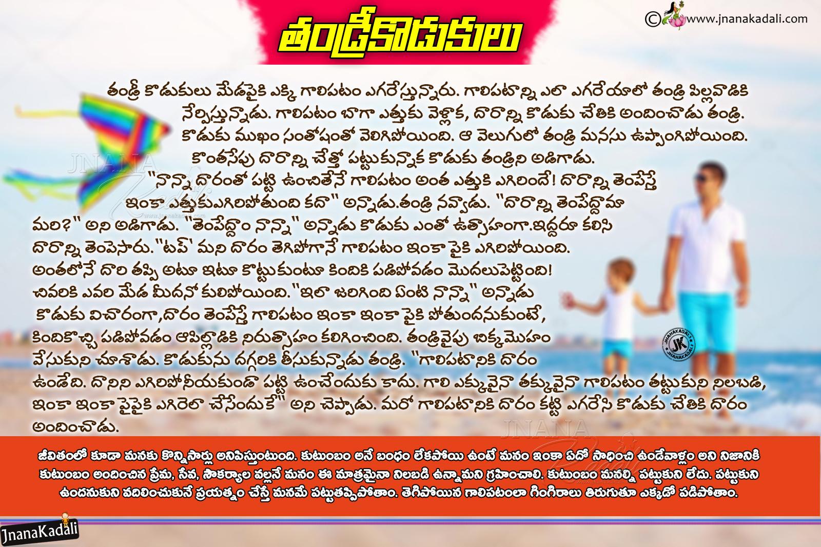 Human Moral Values In Telugu