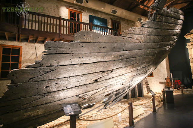 Batavia wreckage at the Maritime Museum Shipwreck Galleries