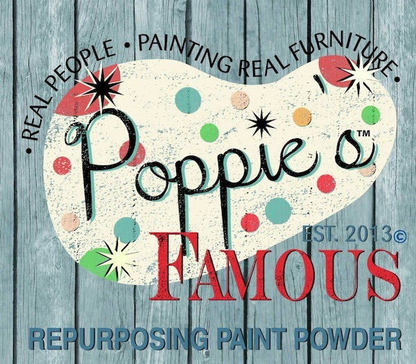 Poppie's Repurposing Paint Powder