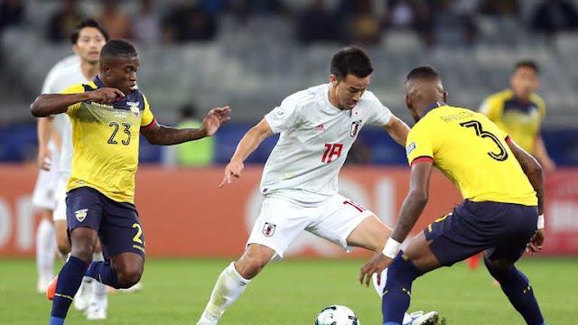 Ecuador vs Japón