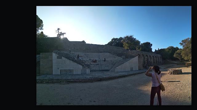 Le Stade Antique de la ville de Rhodes @Alain Lacour 2019