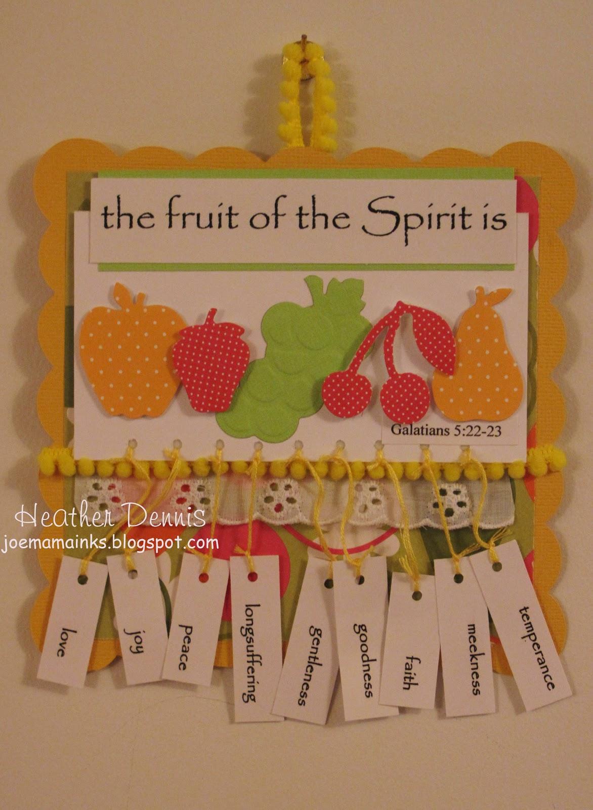 Heather S Coffee Break The Fruit Of The Spirit