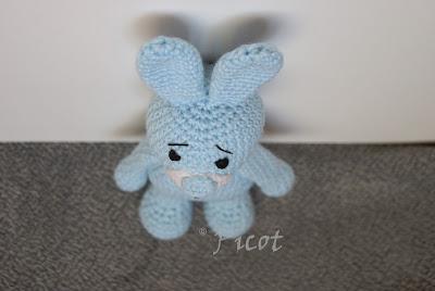 Niebieski królik