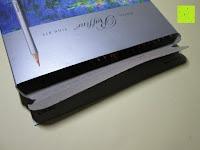 Verpackung öffnen: KINGTOP 48er Buntstifte Schaft Farbstift Eco Bleistifte Kartonetui für Kunst Aquarelle gut Geschenk