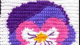 Cuando tejer es casi pintar... flores al crochet