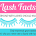 Eyelash Facts Everyone with Lashes Should Know #infographic