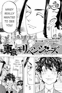 Read Tokyo Revengers Manga Chapter 194 English