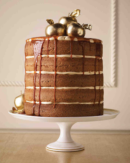 elegancki naked cake na ślub, tort w stylu rustykalny z polewą