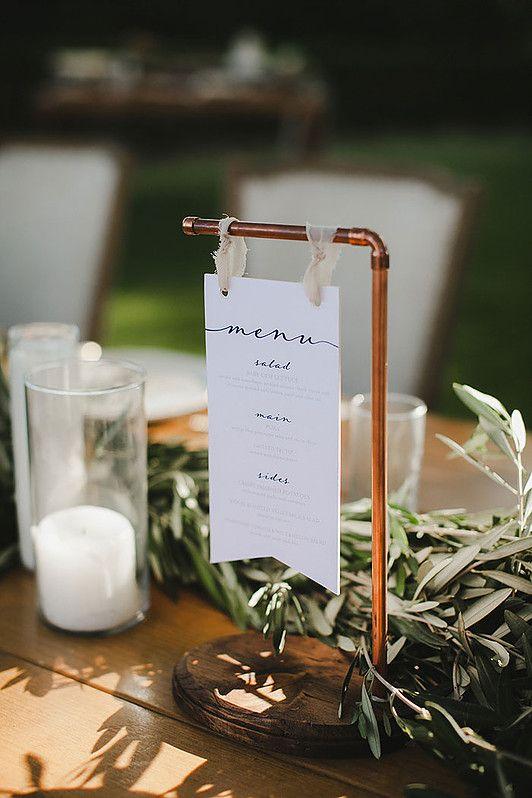 menu bodas