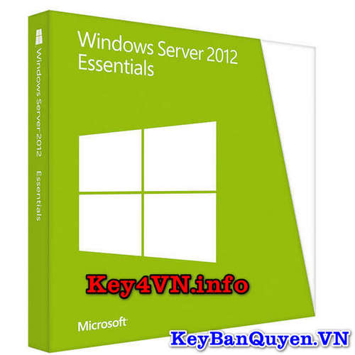 Mua bán key bản quyền Windows Server 2012 Essentials .