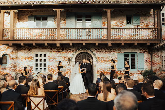 ceremony at casa feliz