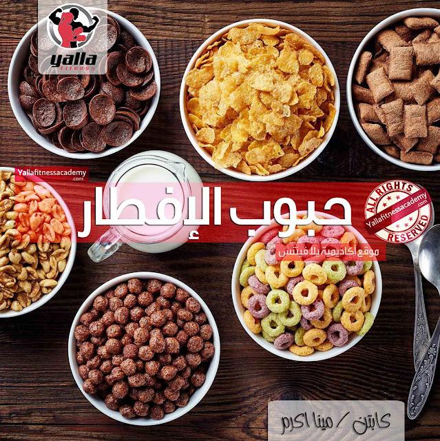 دليل القيم الغذائية لحبوب الإفطار