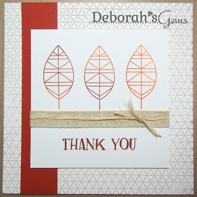 Thank You - photo by Deborah Frings - Deborah's Gems