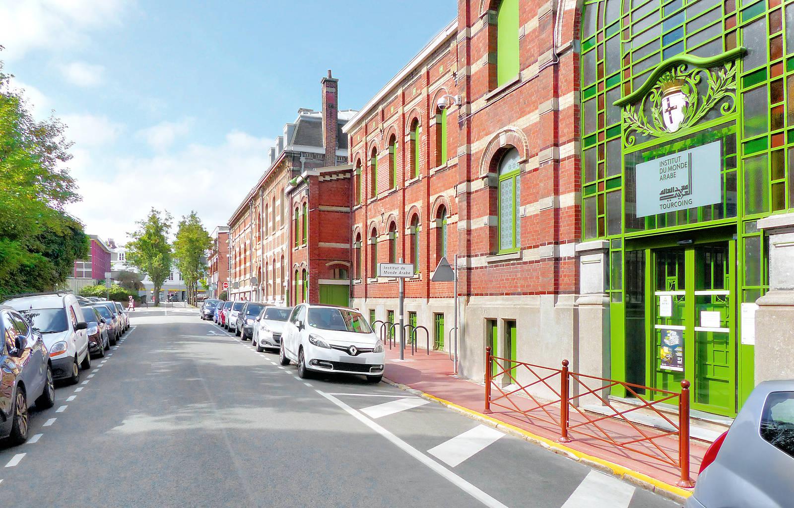 Rue Gabriel Péri, Tourcoing - Institut du Monde Arabe.