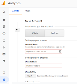 Create Account for you Blogger