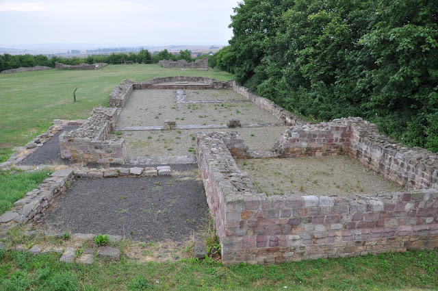 skansen archeologiczny Königspfalz Tilleda - architektura romańska