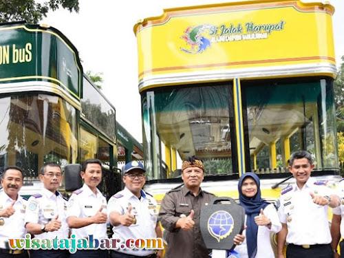 Bus wisata Kabupaten Bandung